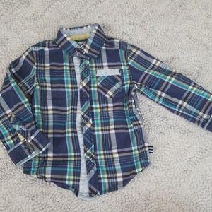 2t Button up shirt